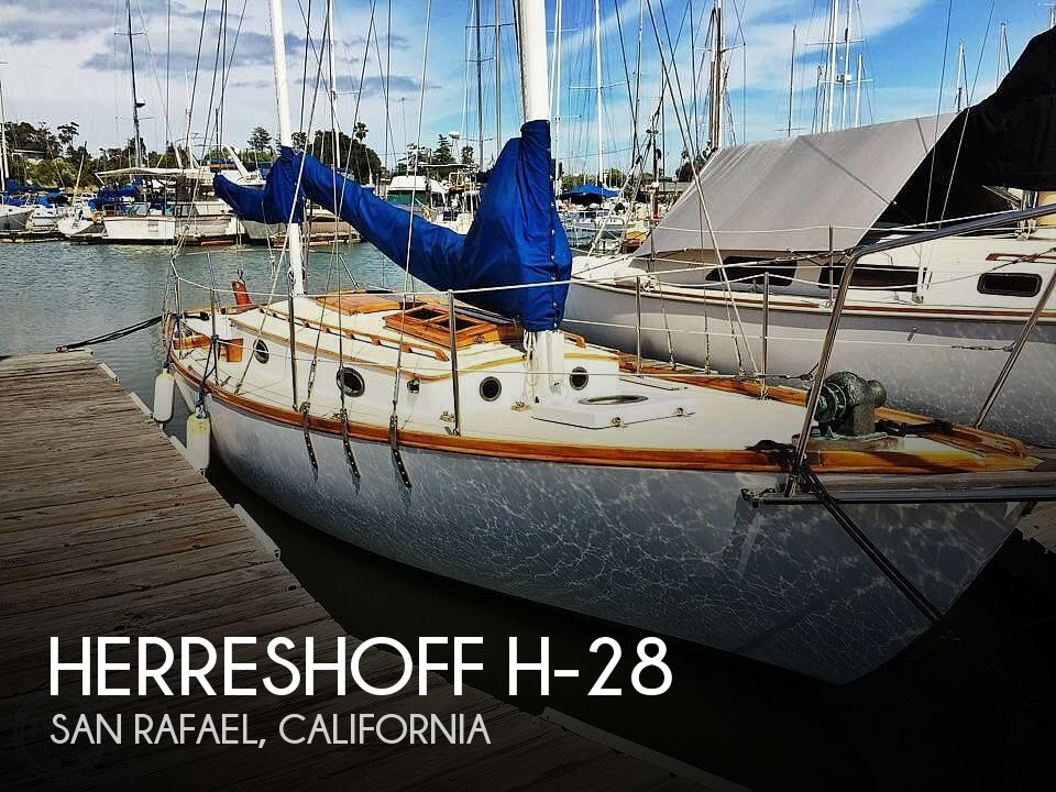 1987 Herreshoff boat for sale, model of the boat is H-28 & Image # 1 of 40