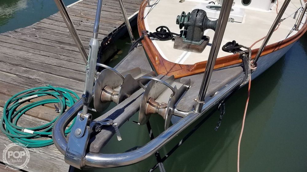 1987 Herreshoff boat for sale, model of the boat is H-28 & Image # 13 of 40