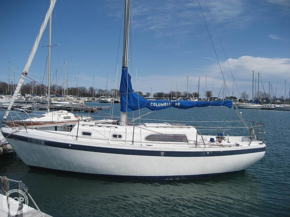 1972 Columbia boat for sale, model of the boat is 28 & Image # 13 of 17