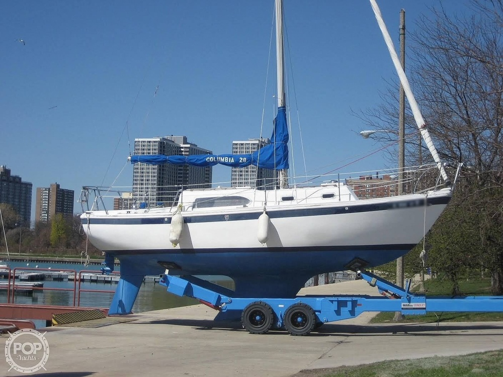 1972 Columbia boat for sale, model of the boat is 28 & Image # 17 of 17