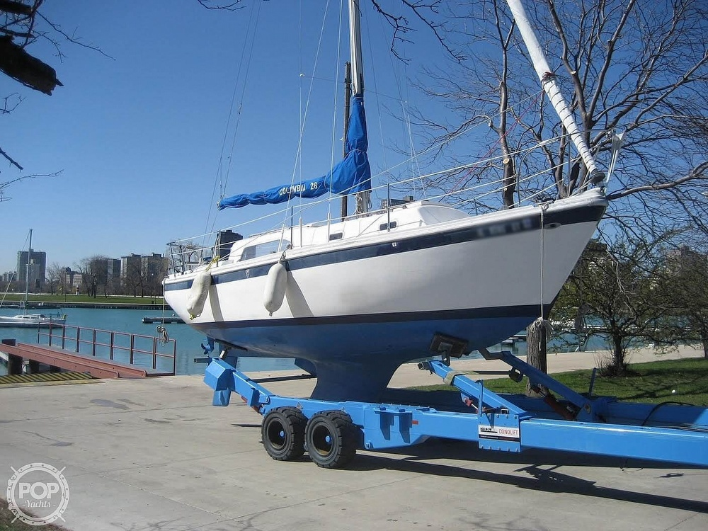 1972 Columbia boat for sale, model of the boat is 28 & Image # 16 of 17