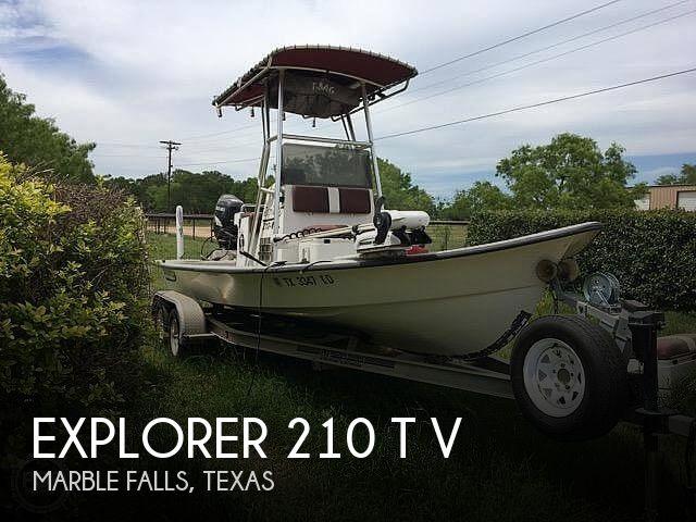 Used Explorer Boats For Sale by owner | 2005 Explorer 210 t v