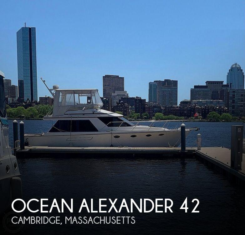 1987 Ocean Alexander 42 Sedan Bridge - image 1