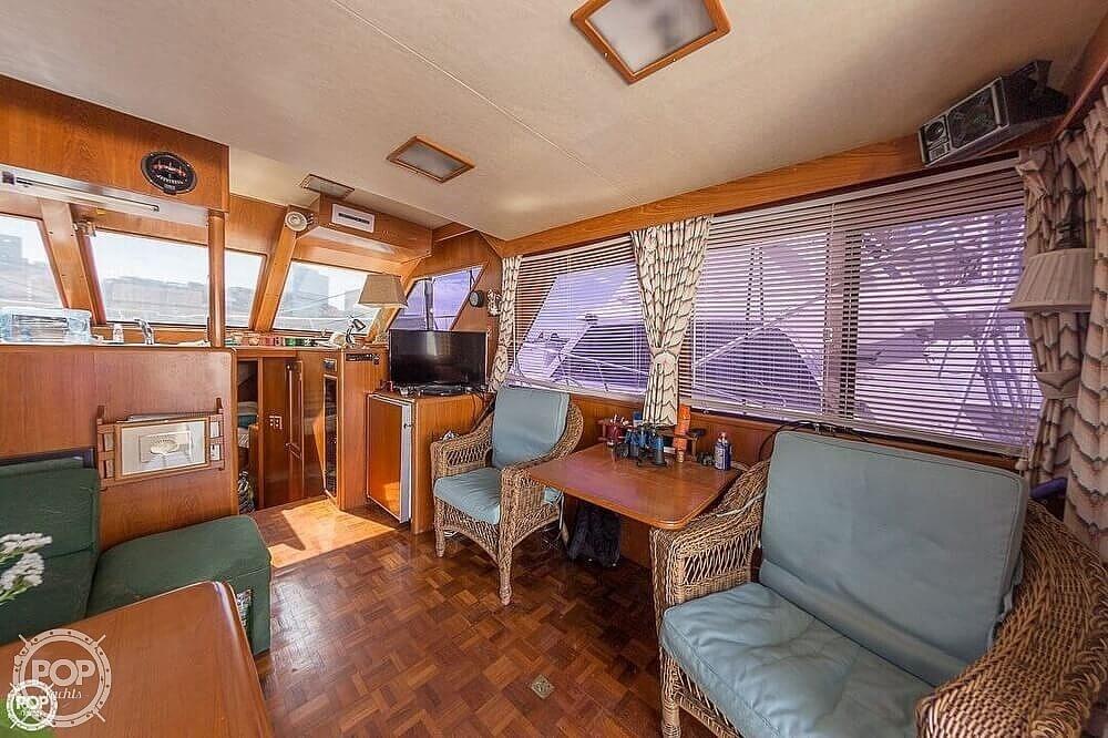 1987 Ocean Alexander boat for sale, model of the boat is 42 Sedan Bridge & Image # 2 of 40