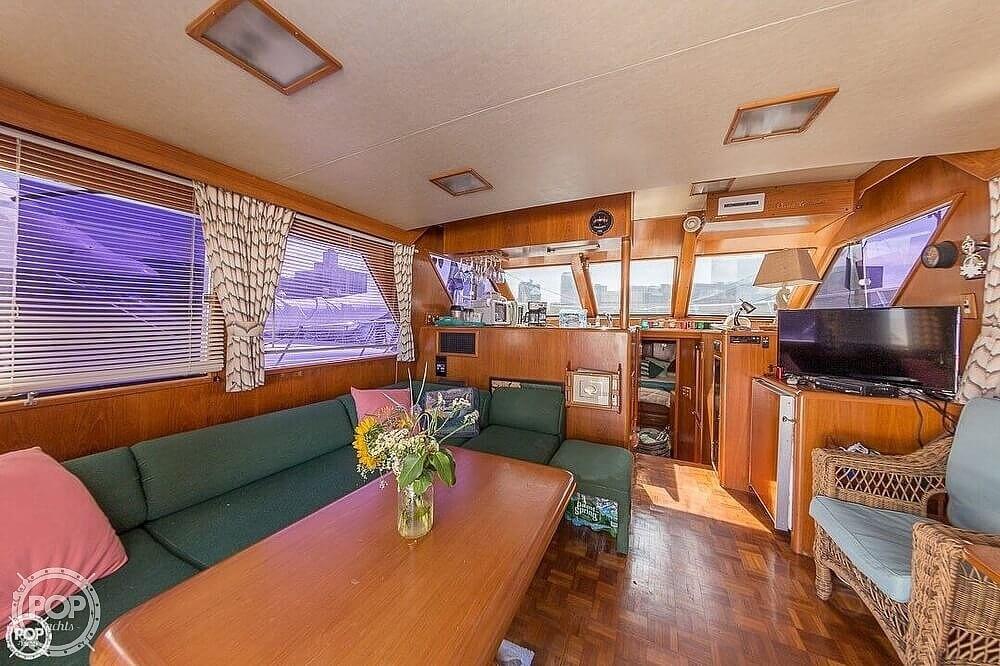 1987 Ocean Alexander boat for sale, model of the boat is 42 Sedan Bridge & Image # 3 of 40