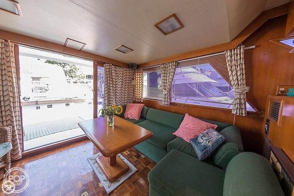 1987 Ocean Alexander boat for sale, model of the boat is 42 Sedan Bridge & Image # 5 of 40