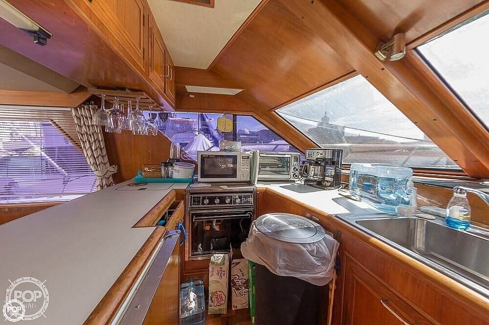 1987 Ocean Alexander boat for sale, model of the boat is 42 Sedan Bridge & Image # 7 of 40