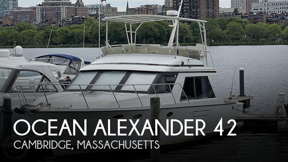 1987 Ocean Alexander boat for sale, model of the boat is 42 Sedan Bridge & Image # 1 of 40