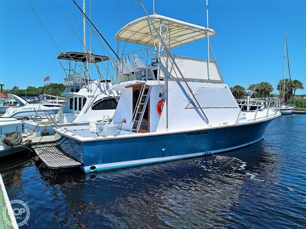 1983 #1 Boat Mfg boat for sale, model of the boat is 39 ( Key West) & Image # 2 of 40