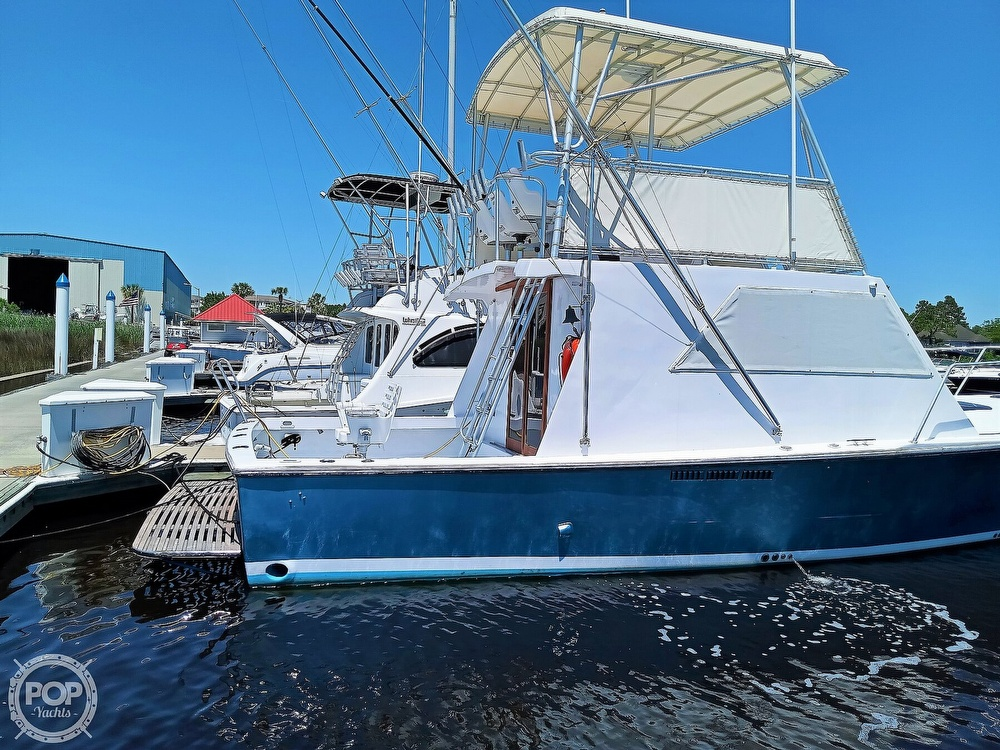 1983 #1 Boat Mfg boat for sale, model of the boat is 39 ( Key West) & Image # 3 of 40