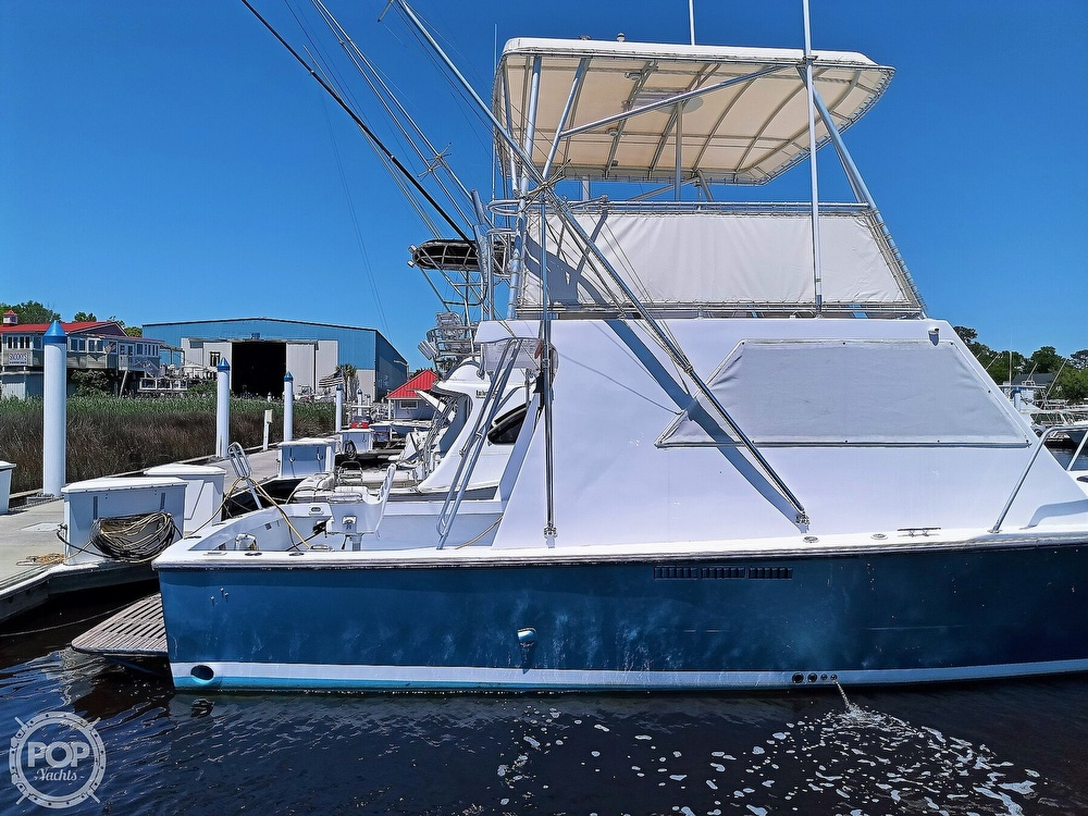 1983 #1 Boat Mfg boat for sale, model of the boat is 39 ( Key West) & Image # 4 of 40