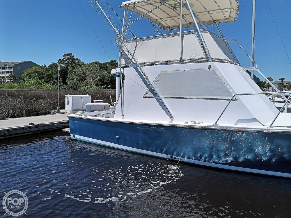 1983 #1 Boat Mfg boat for sale, model of the boat is 39 ( Key West) & Image # 9 of 40