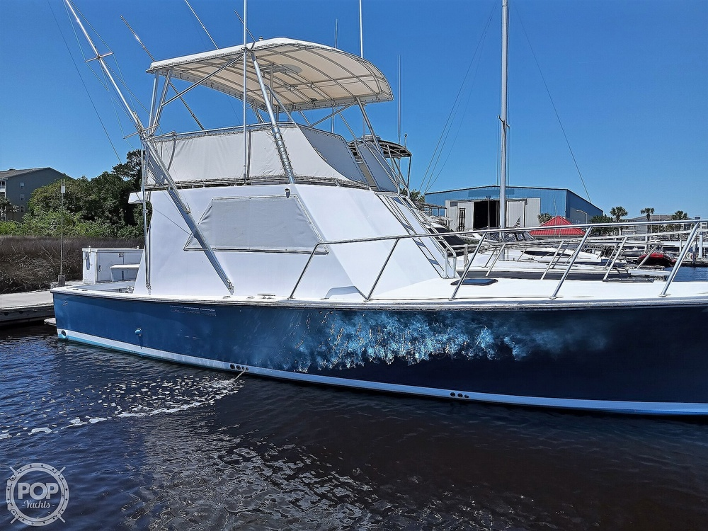 1983 #1 Boat Mfg boat for sale, model of the boat is 39 ( Key West) & Image # 11 of 40