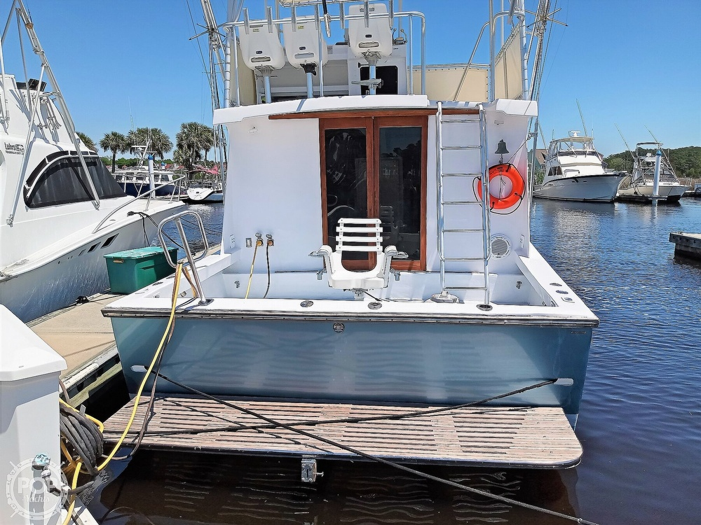 1983 #1 Boat Mfg boat for sale, model of the boat is 39 ( Key West) & Image # 12 of 40