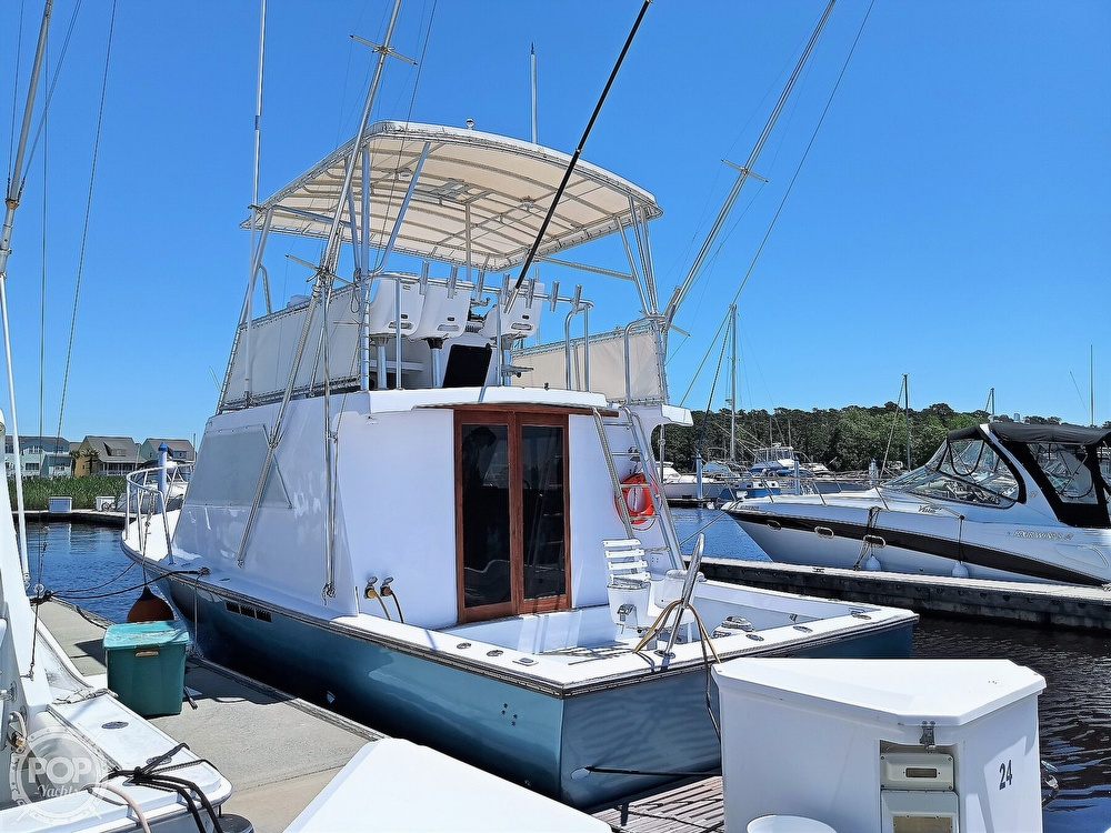 1983 #1 Boat Mfg boat for sale, model of the boat is 39 ( Key West) & Image # 14 of 40
