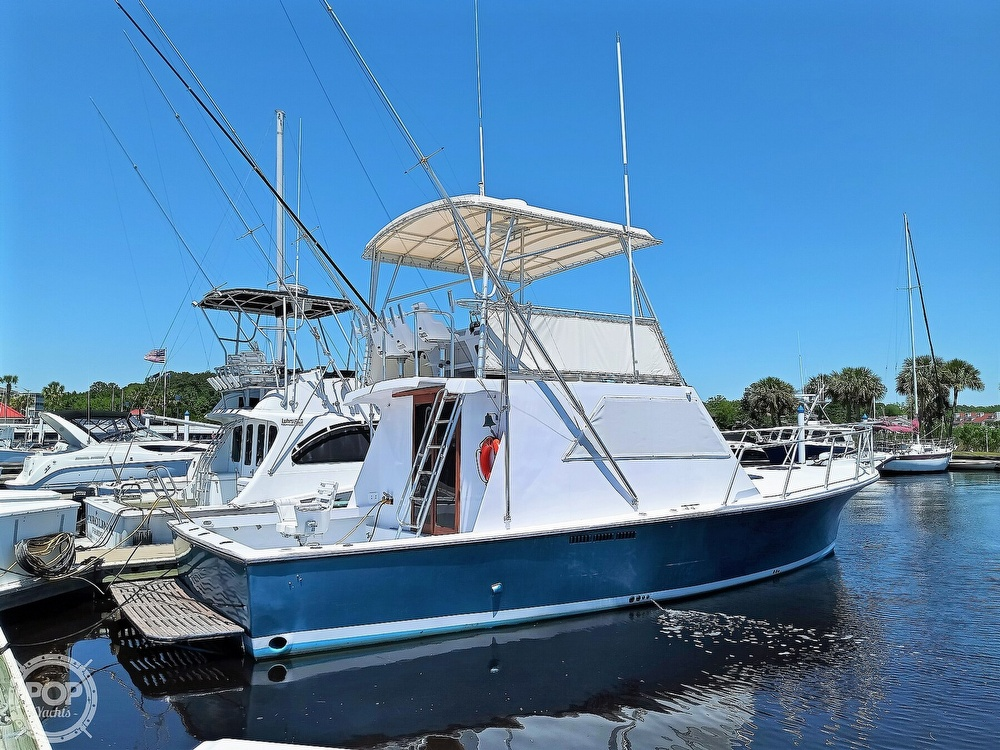 1983 #1 Boat Mfg boat for sale, model of the boat is 39 ( Key West) & Image # 37 of 40