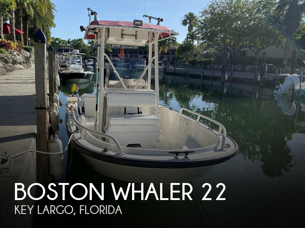 2007 Boston Whaler boat for sale, model of the boat is Guardian 22 & Image # 1 of 40