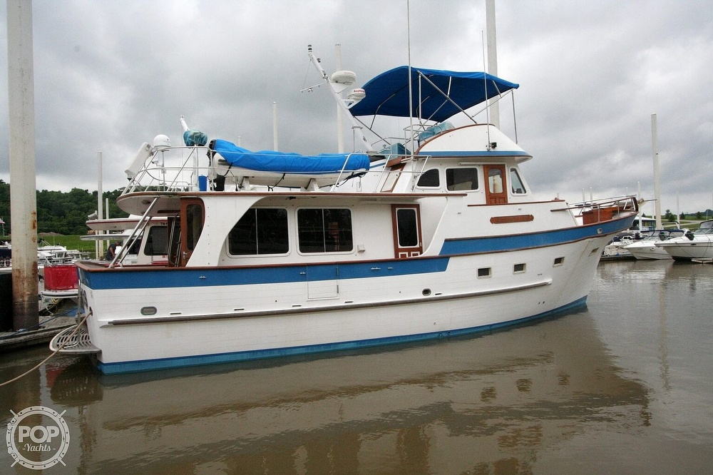 1984 Defever boat for sale, model of the boat is 49 Pilothouse & Image # 4 of 40