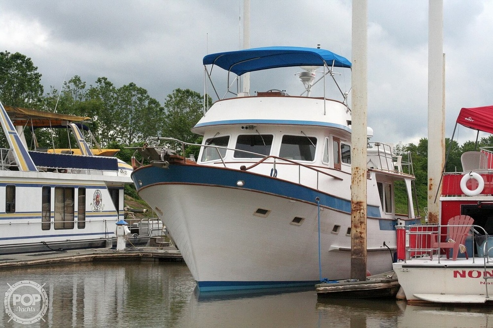 1984 Defever boat for sale, model of the boat is 49 Pilothouse & Image # 3 of 40