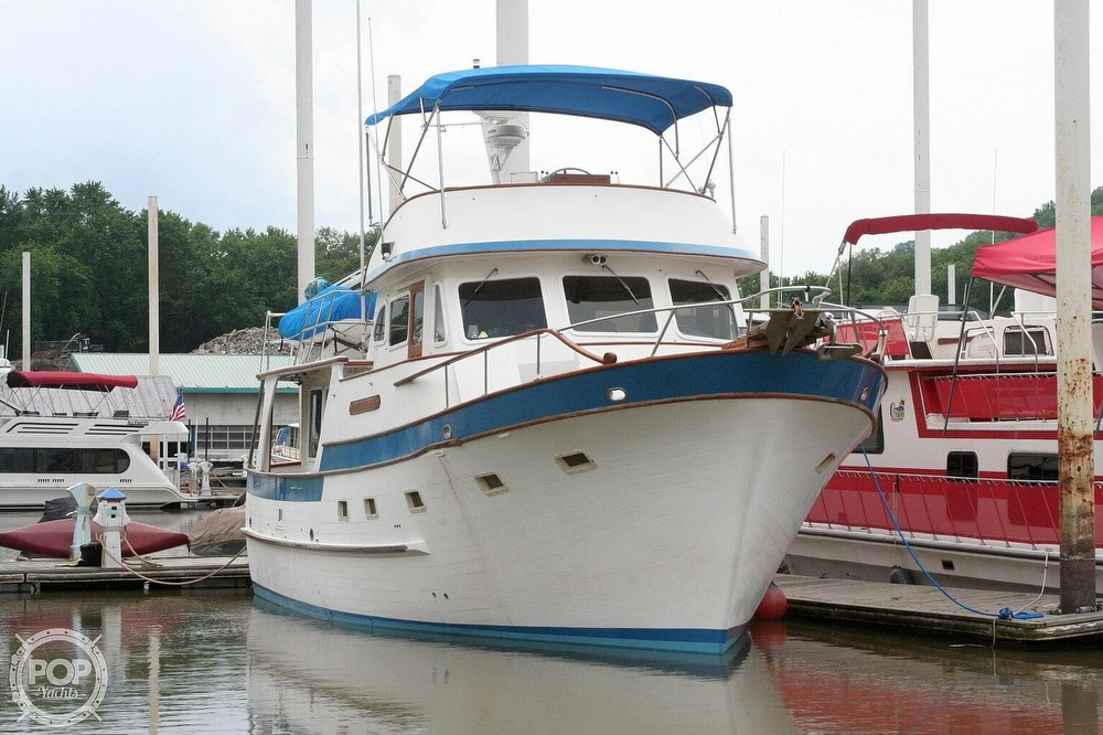 1984 Defever boat for sale, model of the boat is 49 Pilothouse & Image # 2 of 40