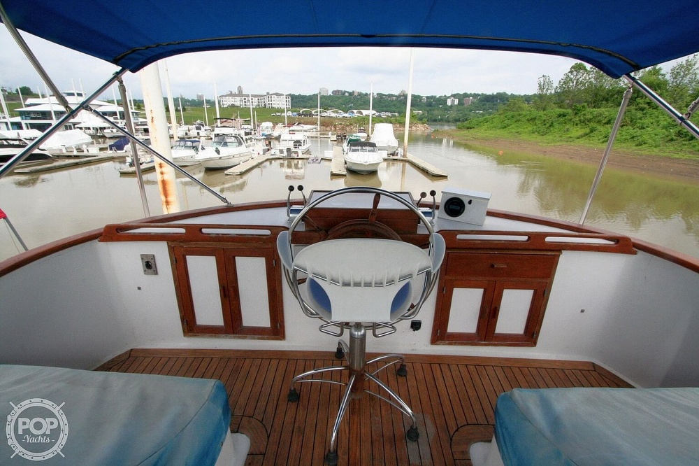 1984 Defever boat for sale, model of the boat is 49 Pilothouse & Image # 5 of 40