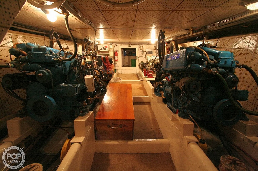 1984 Defever boat for sale, model of the boat is 49 Pilothouse & Image # 11 of 40