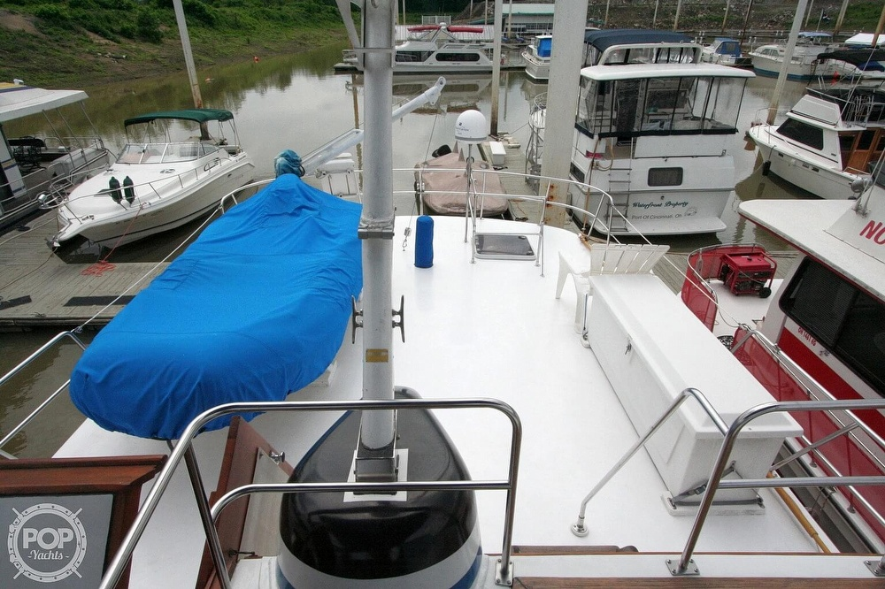 1984 Defever boat for sale, model of the boat is 49 Pilothouse & Image # 14 of 40