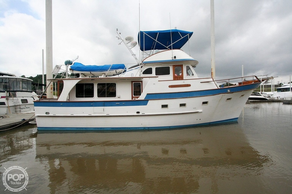 1984 Defever boat for sale, model of the boat is 49 Pilothouse & Image # 15 of 40