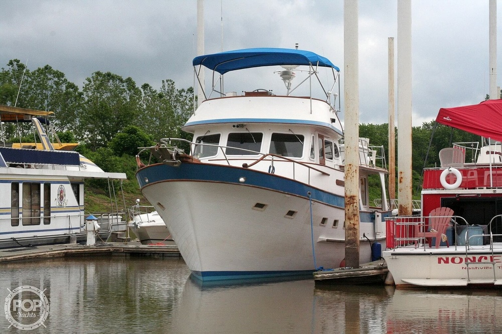 1984 Defever boat for sale, model of the boat is 49 Pilothouse & Image # 19 of 40