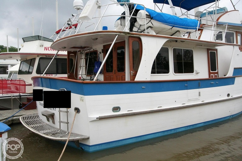 1984 Defever boat for sale, model of the boat is 49 Pilothouse & Image # 20 of 40