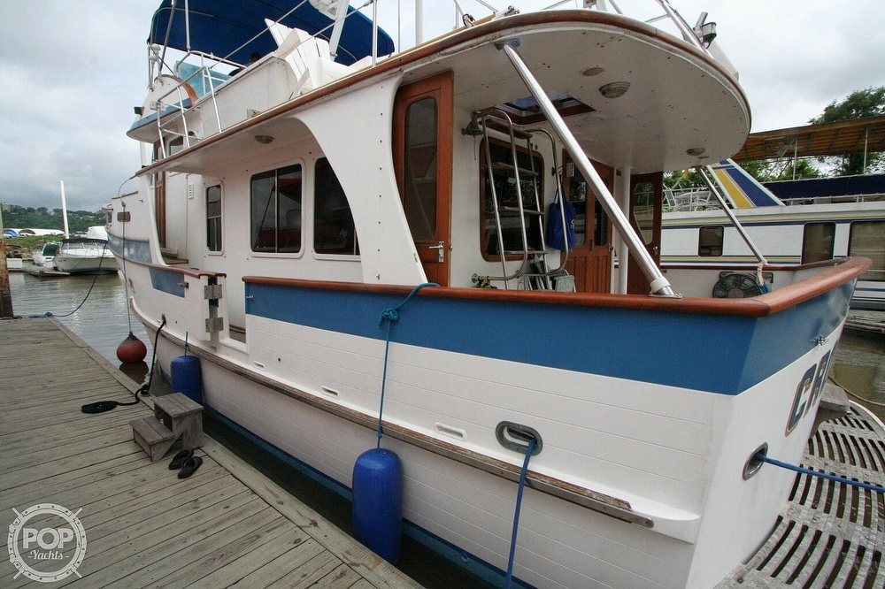 1984 Defever boat for sale, model of the boat is 49 Pilothouse & Image # 21 of 40
