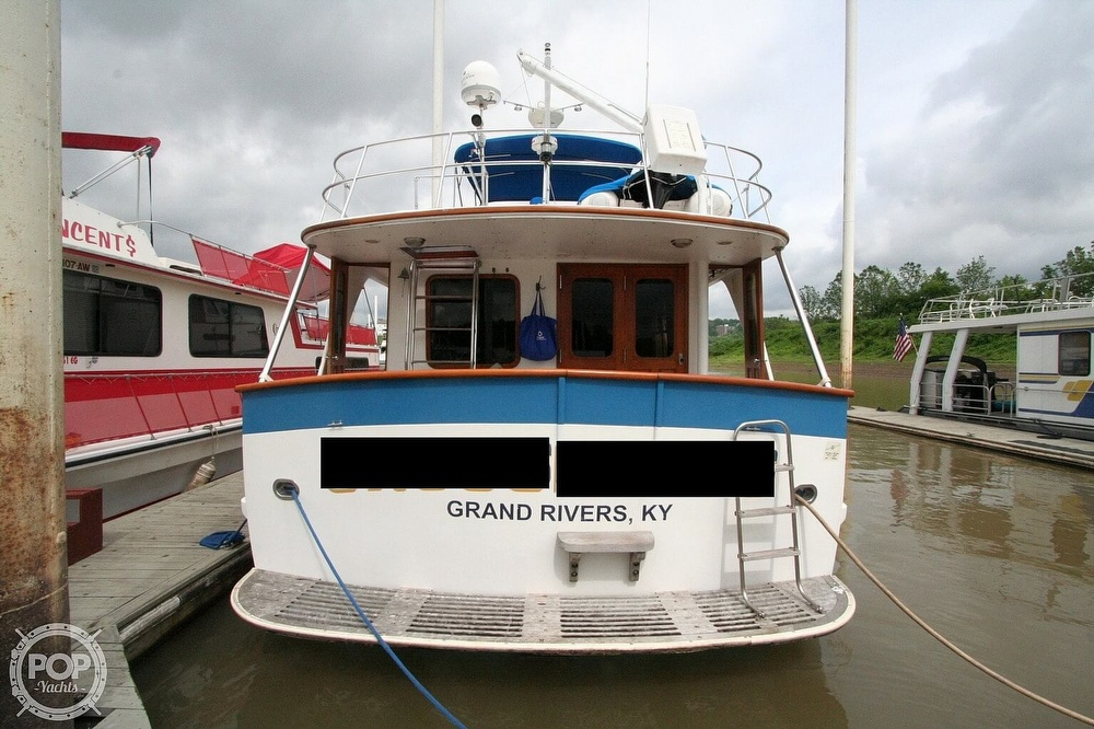 1984 Defever boat for sale, model of the boat is 49 Pilothouse & Image # 22 of 40