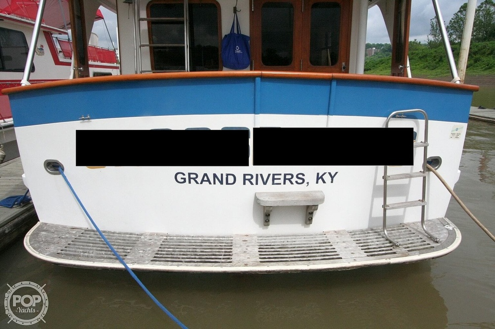 1984 Defever boat for sale, model of the boat is 49 Pilothouse & Image # 23 of 40