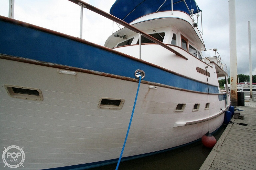 1984 Defever boat for sale, model of the boat is 49 Pilothouse & Image # 28 of 40