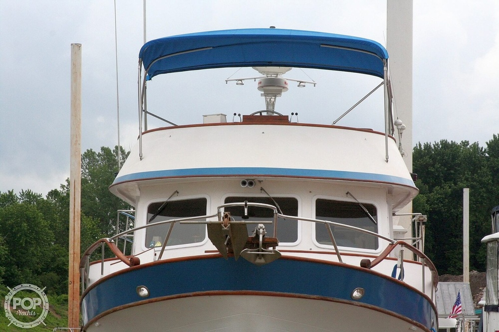 1984 Defever boat for sale, model of the boat is 49 Pilothouse & Image # 31 of 40