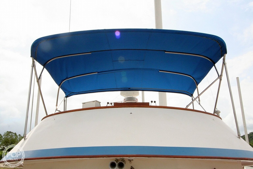 1984 Defever boat for sale, model of the boat is 49 Pilothouse & Image # 34 of 40