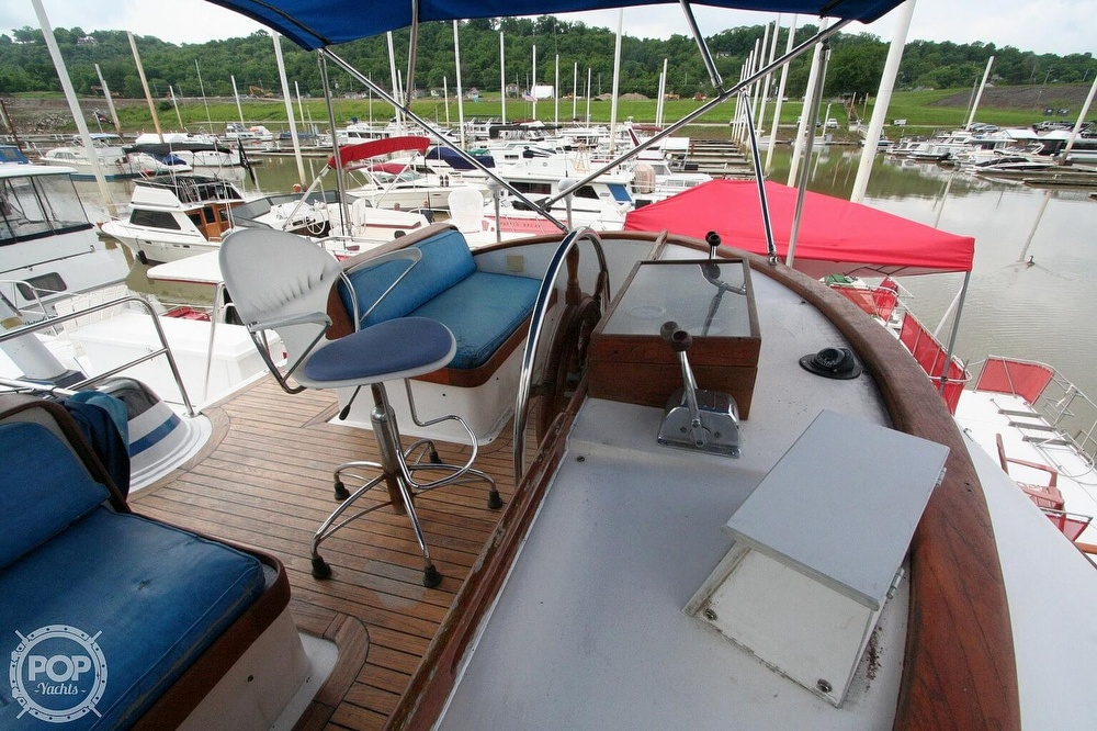 1984 Defever boat for sale, model of the boat is 49 Pilothouse & Image # 35 of 40