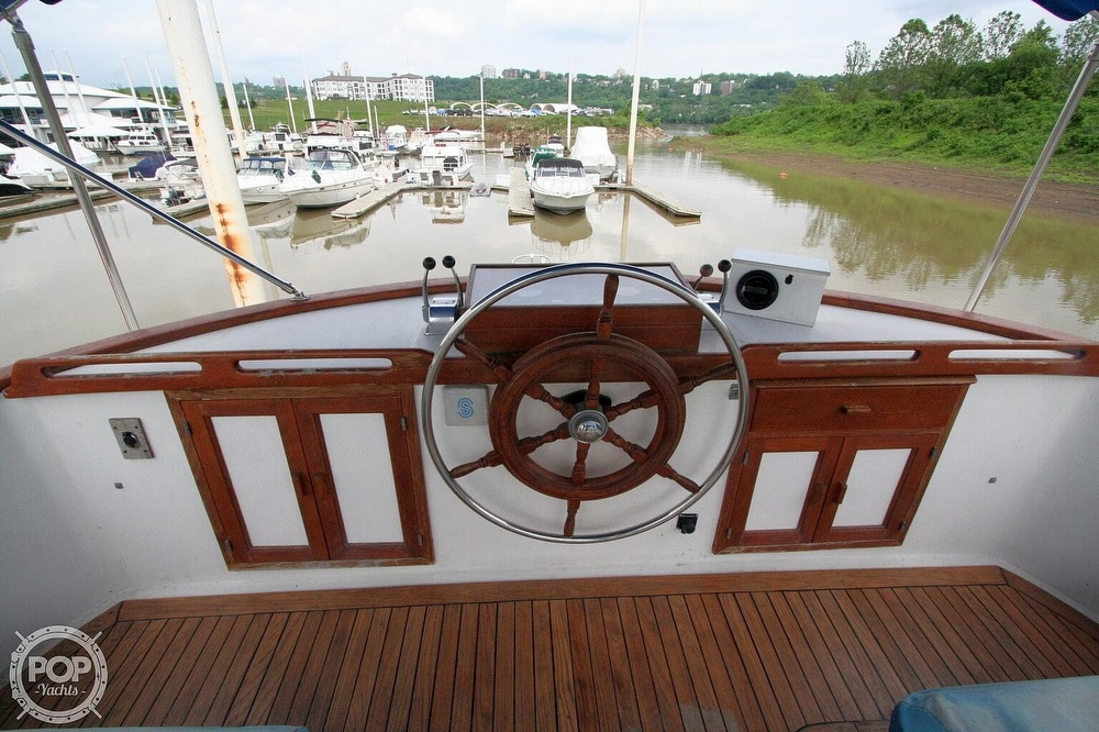1984 Defever boat for sale, model of the boat is 49 Pilothouse & Image # 37 of 40