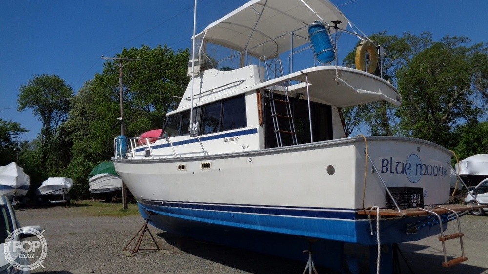 1981 Mainship boat for sale, model of the boat is Mark I & Image # 16 of 40