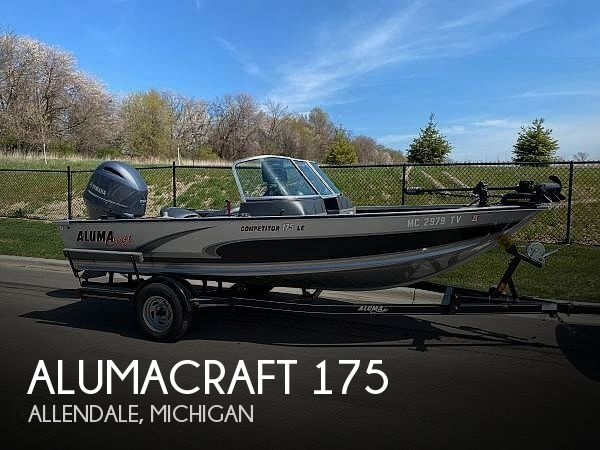 Used Fishing boats For Sale in Michigan by owner | 2015 Alumacraft 175