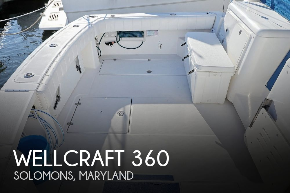 2007 Wellcraft boat for sale, model of the boat is 360 Coastal & Image # 1 of 40