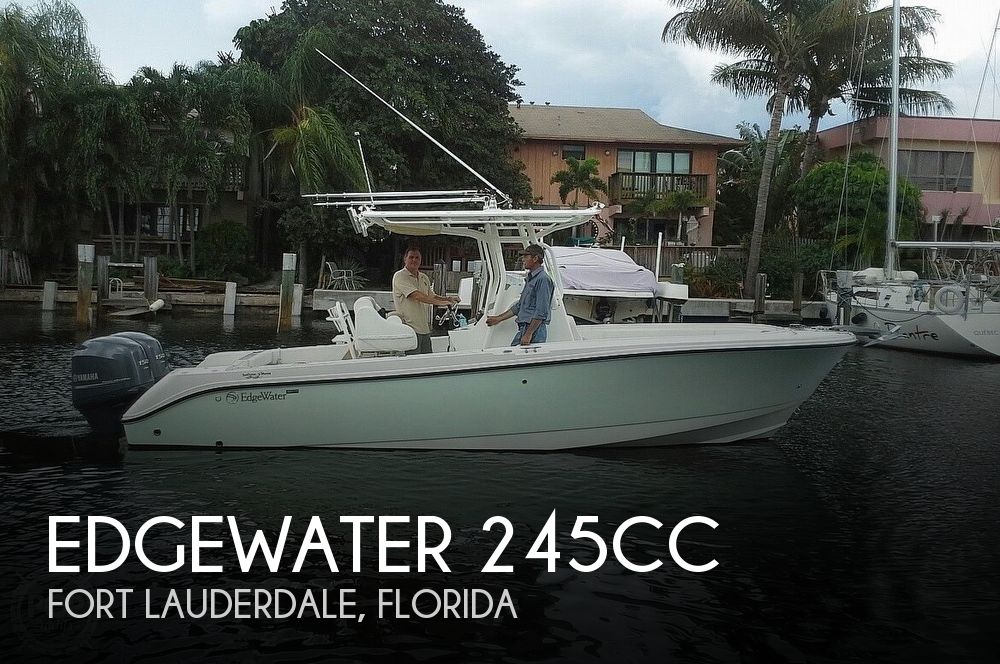 Used Edgewater Boats For Sale by owner | 2014 Edgewater 245CC