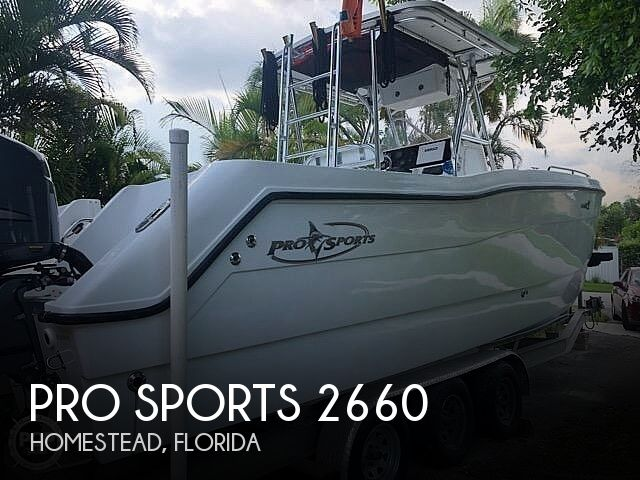 Used Pro Sports Boats For Sale by owner | 2002 Pro Sports 2660