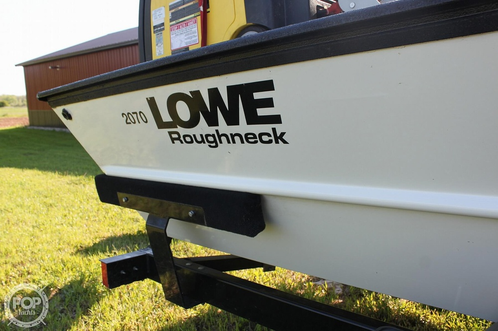 2014 Lowe boat for sale, model of the boat is 2070 Roughneck & Image # 40 of 40