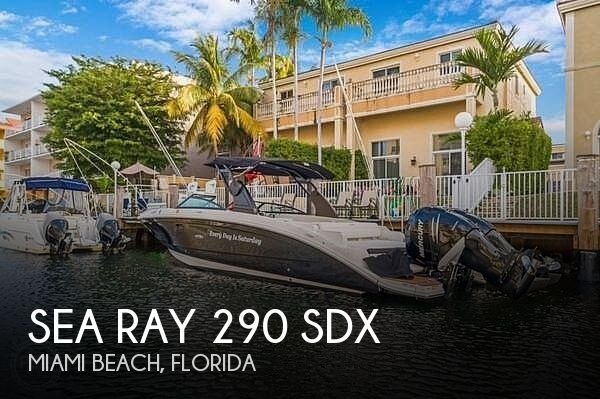 Used Sea Ray Boats For Sale in Florida by owner | 2018 Sea Ray 290 SDX