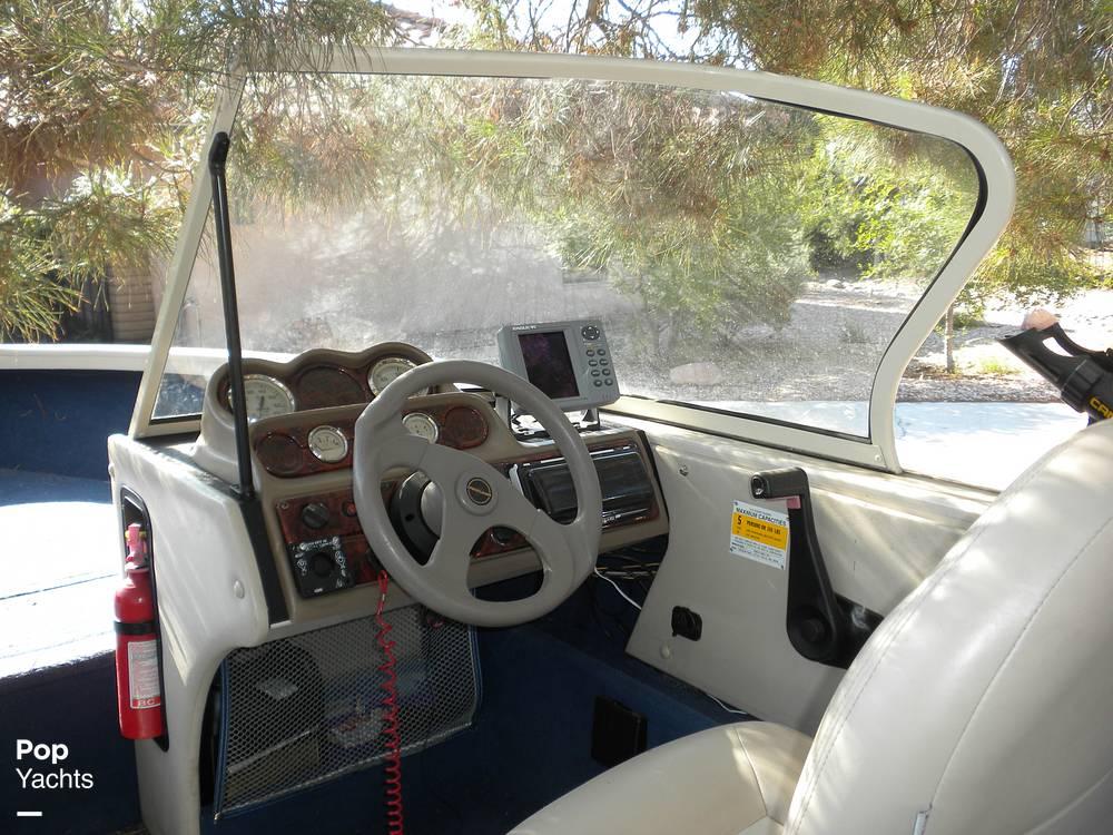 1999 Crestliner boat for sale, model of the boat is Superhawk 1600 & Image # 3 of 40