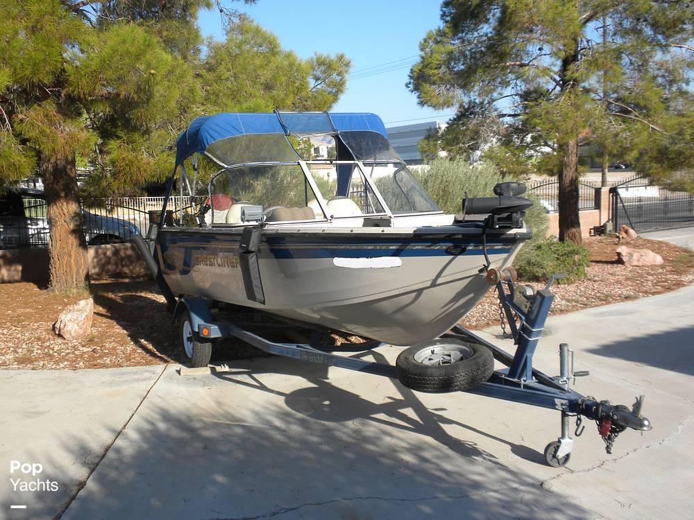1999 Crestliner boat for sale, model of the boat is Superhawk 1600 & Image # 5 of 40
