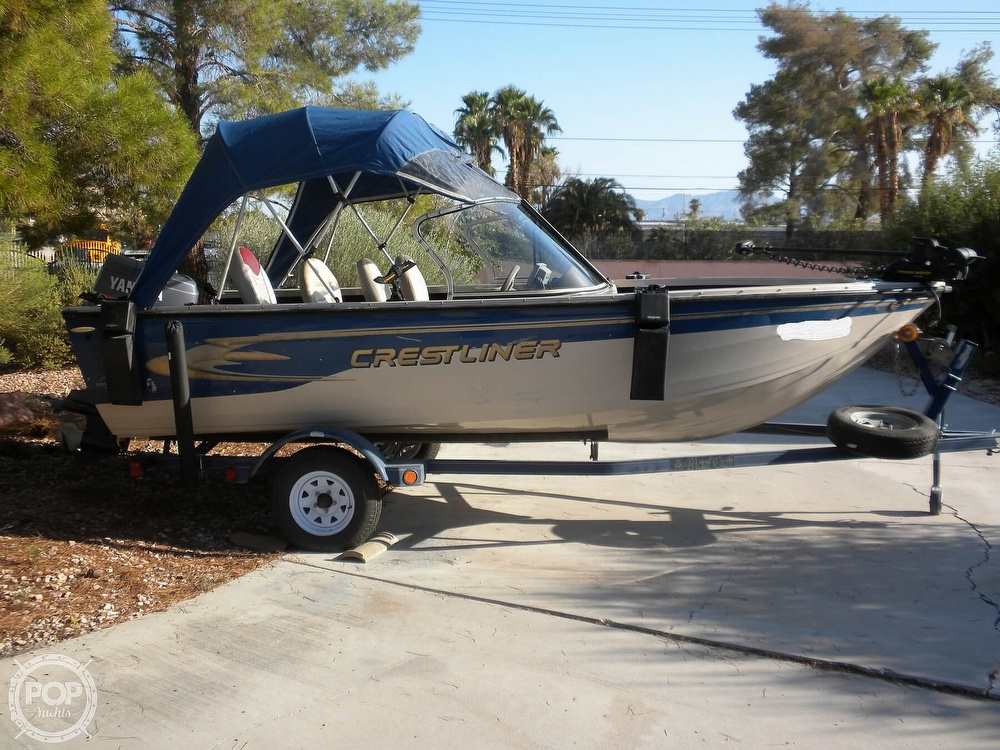 1999 Crestliner boat for sale, model of the boat is Superhawk 1600 & Image # 2 of 40