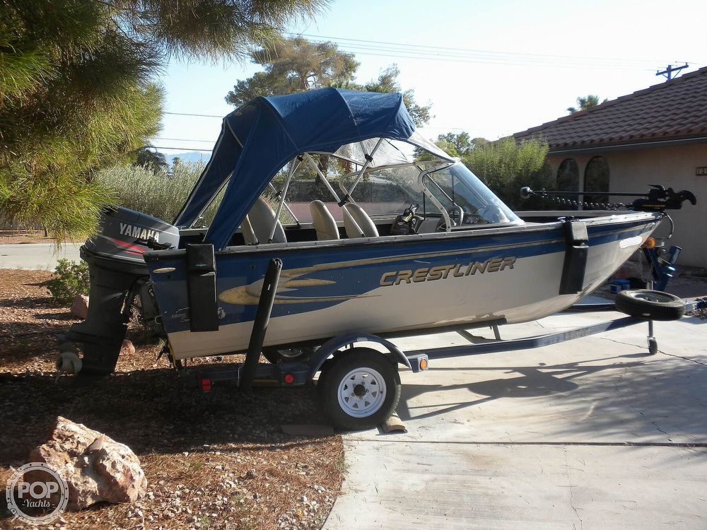 1999 Crestliner boat for sale, model of the boat is Superhawk 1600 & Image # 6 of 40