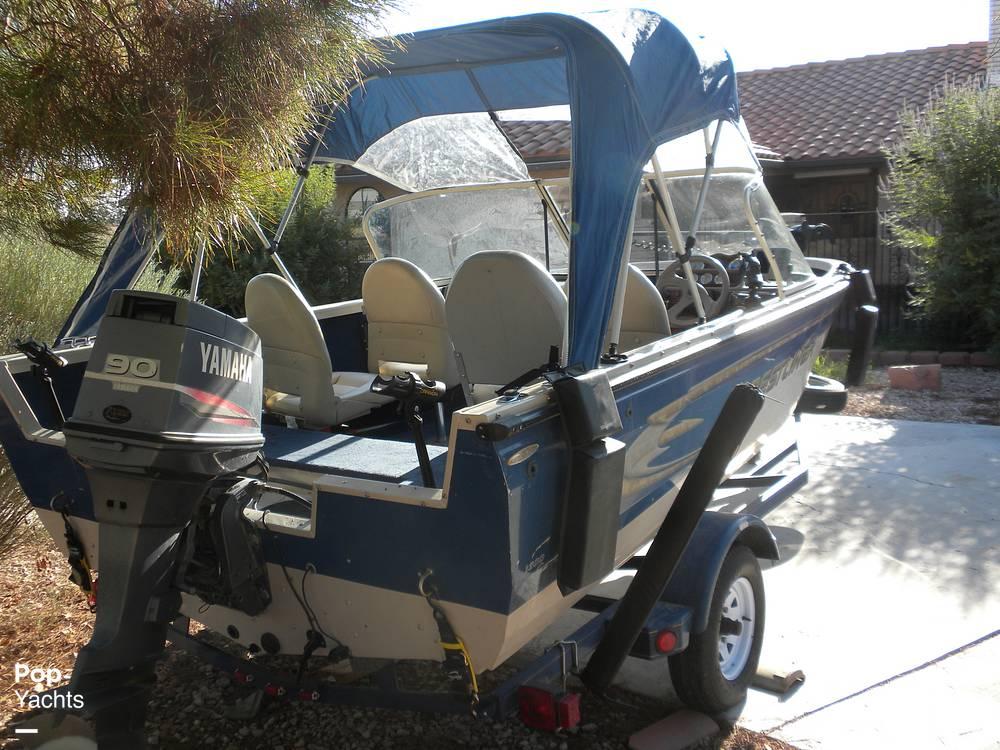 1999 Crestliner boat for sale, model of the boat is Superhawk 1600 & Image # 7 of 40